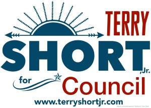 Team Terry Yard Sign